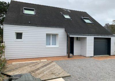 Isolation par l'extérieur - SARL Noel-Morvan Menuiserie Charpente Centre-Bretagne