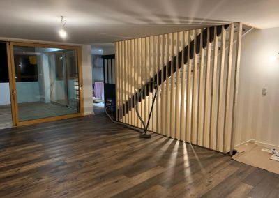 Menuiserie intérieure - bareaudage escalier - SARL Noel-Morvan Menuiserie Charpente Centre-Bretagne